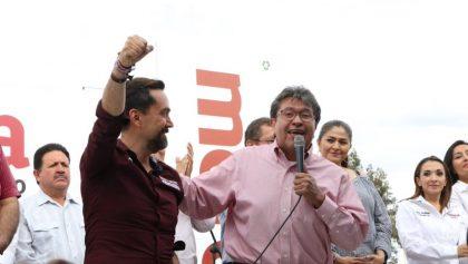 Ricardo Monreal promete presupuesto a cambio de votos a favor de Morena