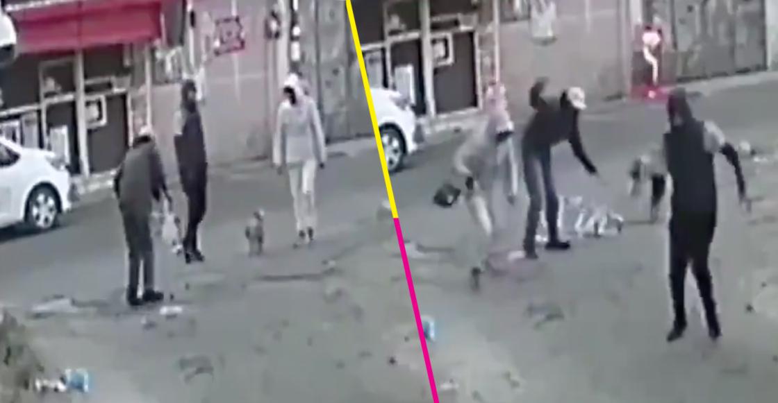 Asaltan a un viejito en andadera y lo dejan tirado en el suelo; pasó en Tlalpan