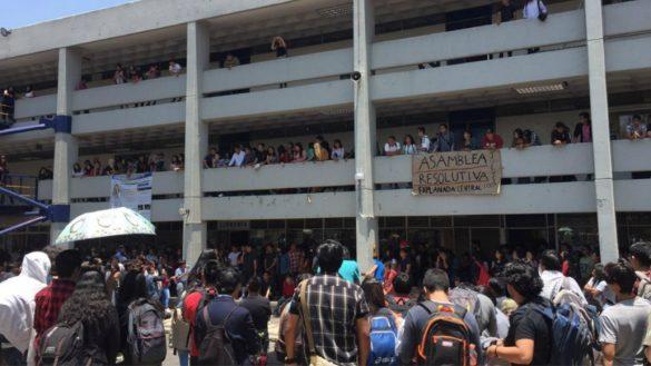 FES Aragón se va a paro de labores por estudiante asesinada en CCH Oriente