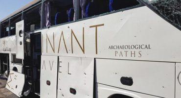 Explosión cerca de un autobús de turistas en Egipto deja varios heridos
