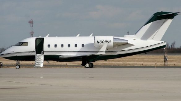 Avión Bombardier Challenger 601