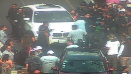 Conductor de un BMW muerte tras una balacera en la alcaldía Miguel Hidalgo