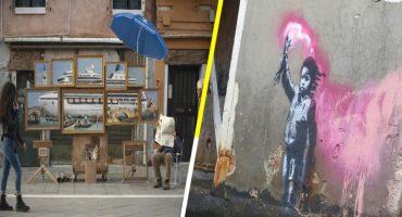 Bansky expuso en la Bienal de Venecia y ¡nadie lo notó! 😱