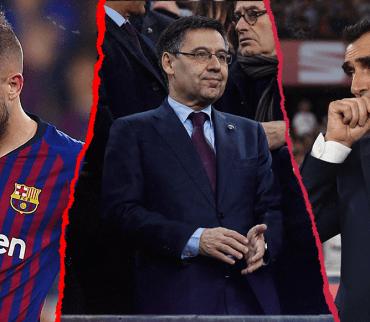 El presidente del Barcelona habló sobre el futuro de Valverde y jugadores: