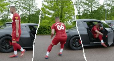 La vida de Alexander-Arnold tras madrugar al Barça, según la parodia de youtubers ingleses