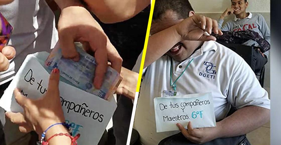 El futuro de México: Estudiantes donan sus becas del gobierno a un compañero de escasos recursos