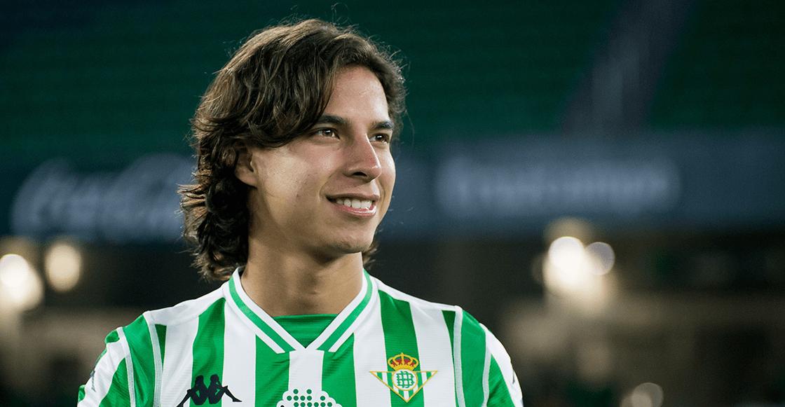 Diego Lainez es duda ante el Real Madrid