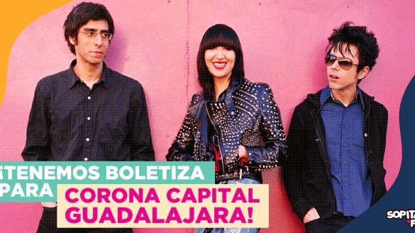 Off with your head porque... ¡tenemos boletos para Corona Capital Guadalajara 2019!