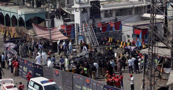 Explota una bomba en Pakistán y deja al menos 10 muertos
