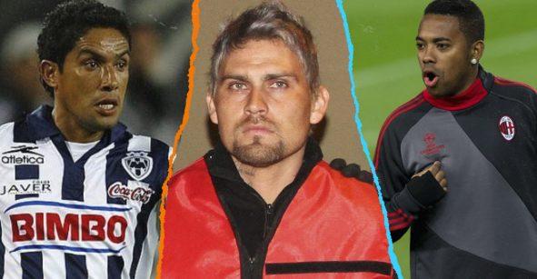 'Cabrito' Arellano y 5 futbolistas más que tuvieron 'problemas con la ley'