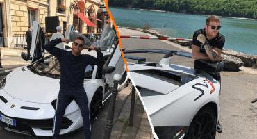 'Canelo' presume su Lamborghinide 8.5 millones en el Gran Premio de Mónaco