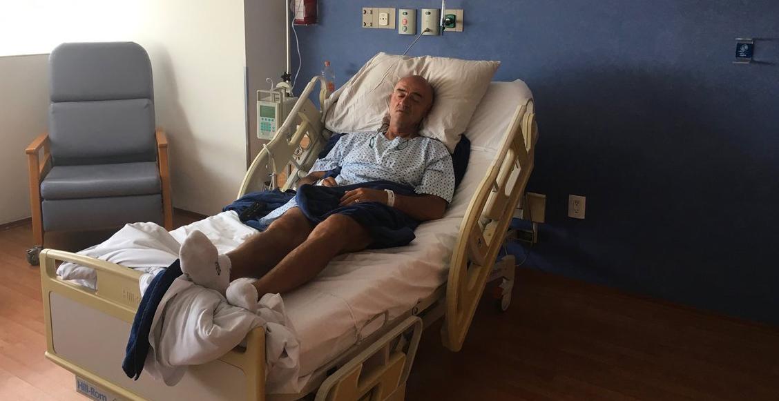 """El 'Chelís' fue hospitalizado debido a fuertes dolores: """"mi salud no es buena"""""""