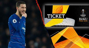 Chelsea y Arsenal devolvieron entradas para la final de la Europa League por complicaciones