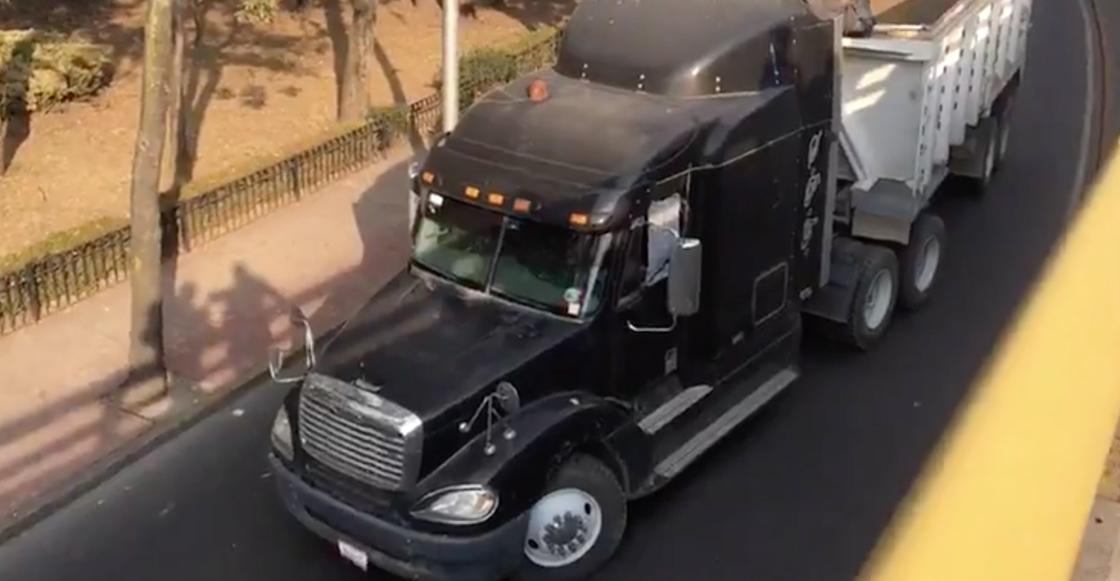 El conductor de un camión de carga fue baleado en carriles de Río San Joaquín
