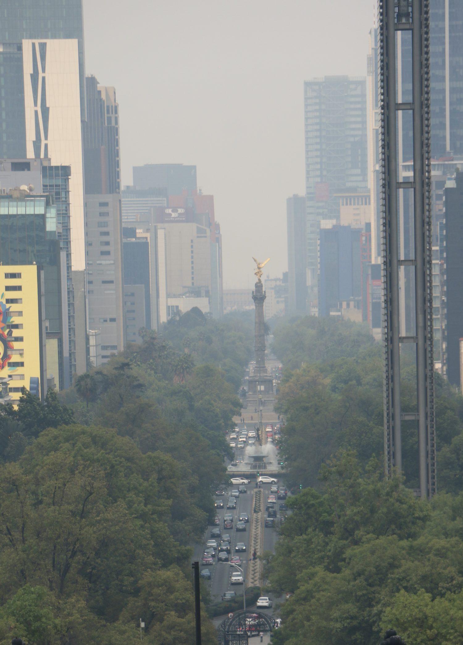 Persistirá la mala calidad del aire en el Valle de México, debido a incendios en diversos puntos de la CDMX
