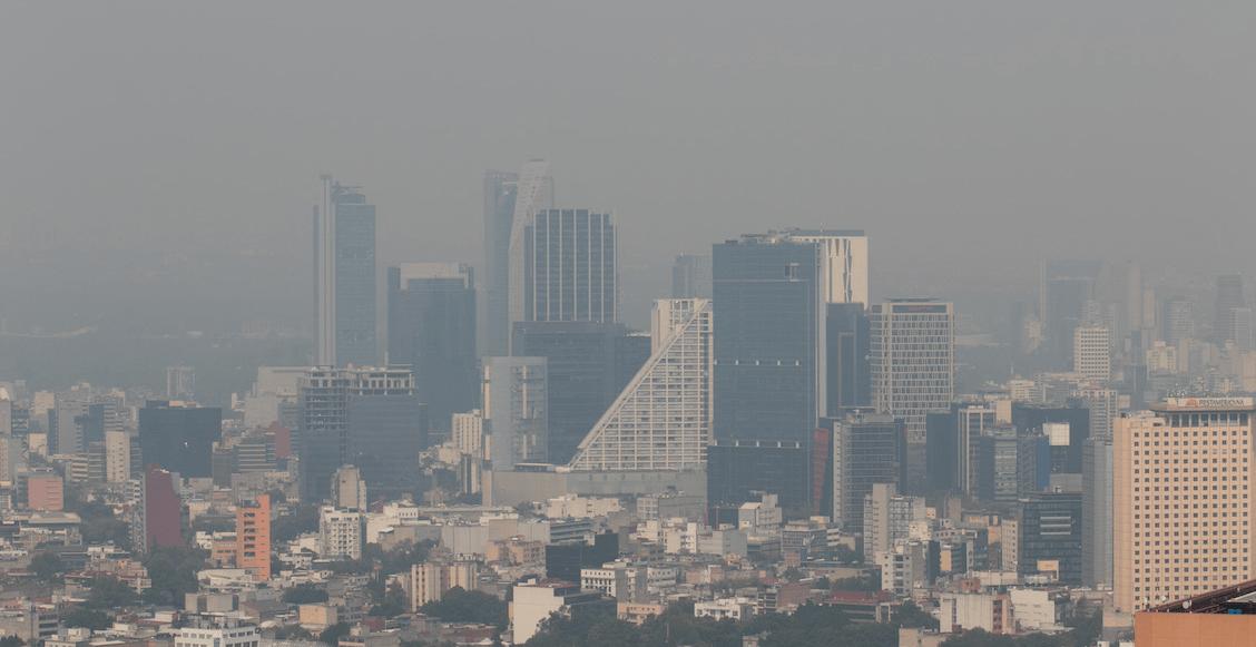 ¿Cómo amanecimos? Aumentó la mala calidad del aire en CDMX