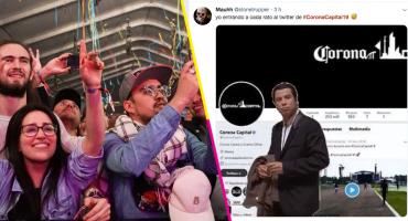 ¡Saquen las apuestas! Acá los mejores tuits de la 'no revelación' del Corona Capital 2019