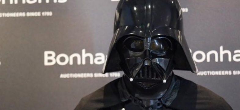 Hagan la vaquita que el traje original de Darth Vader se subastará