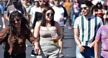 Así se puso la segunda edición del Corona Capital Guadalajara 2019