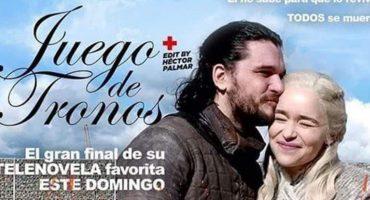 Acá los mejores memes y reacciones al final de telenovela que nos dio 'Game of Thrones' 😞