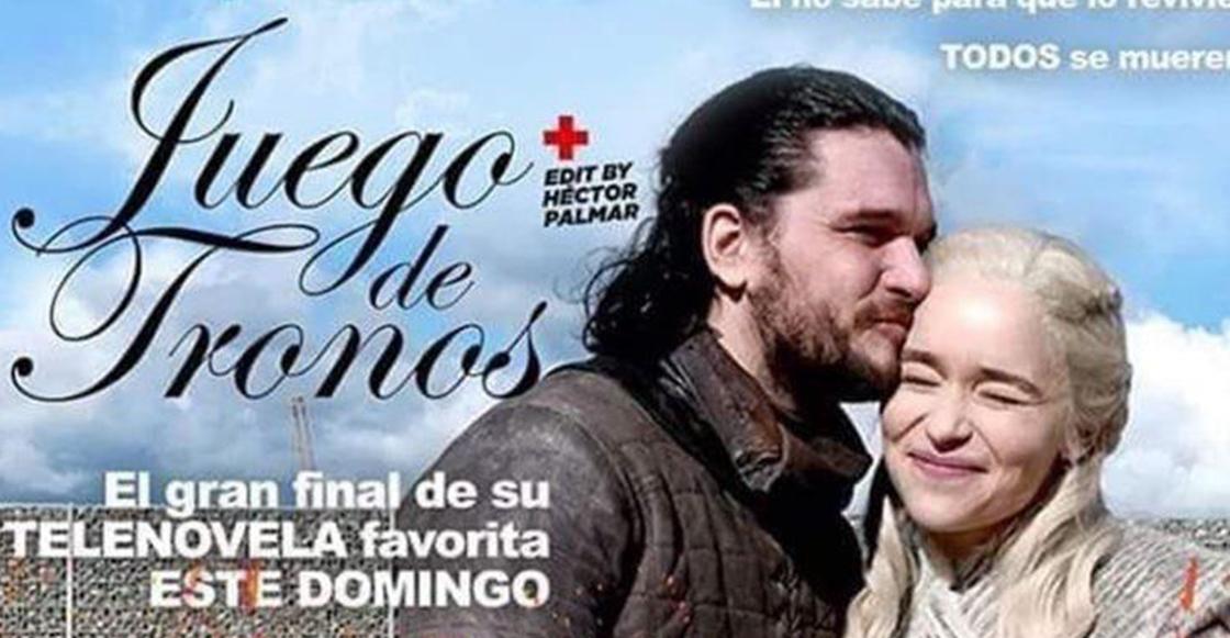 Acá los mejores memes y reacciones al final de telenovela que nos dio 'Game of Thrones'