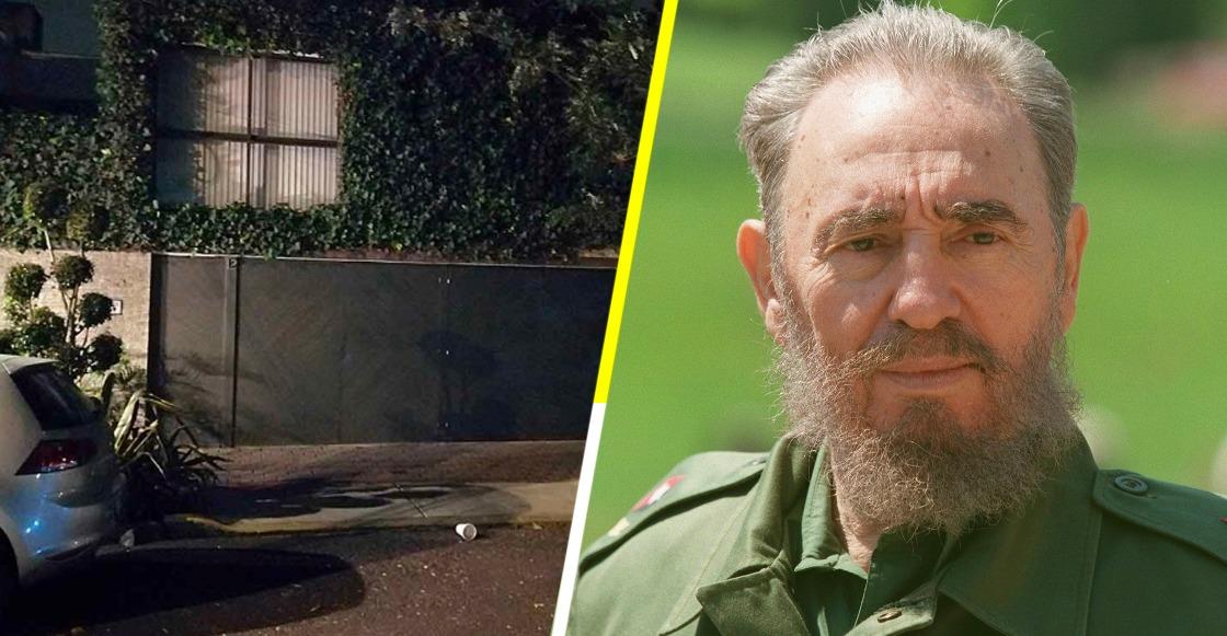 Domicilio donde murió la sobrina de Fidel Castro