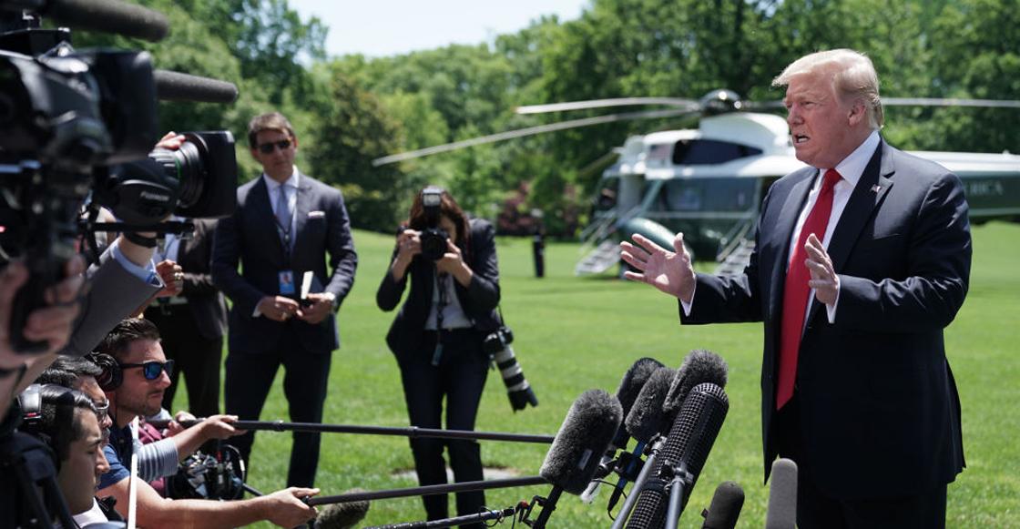 """Trump anuncia envío de mil 500 soldados a Oriente Medio """"solo por protección"""""""