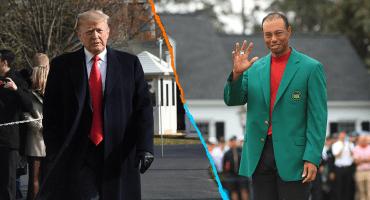Donald Trump concederá a Tiger Woods la Medalla de la Libertad