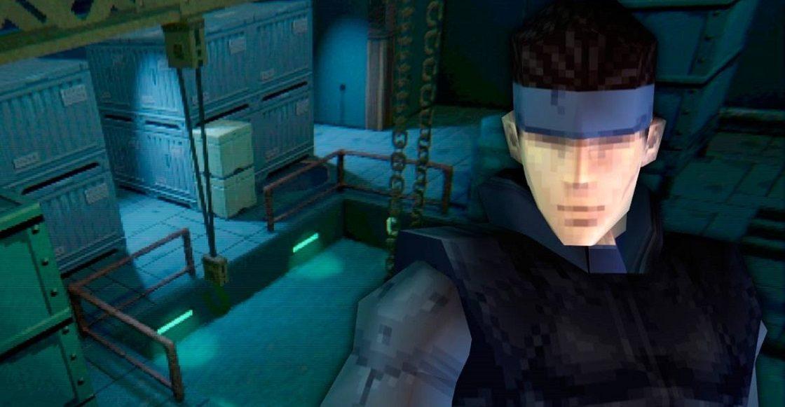 Recreación de Metal Gear Solid en Dreams