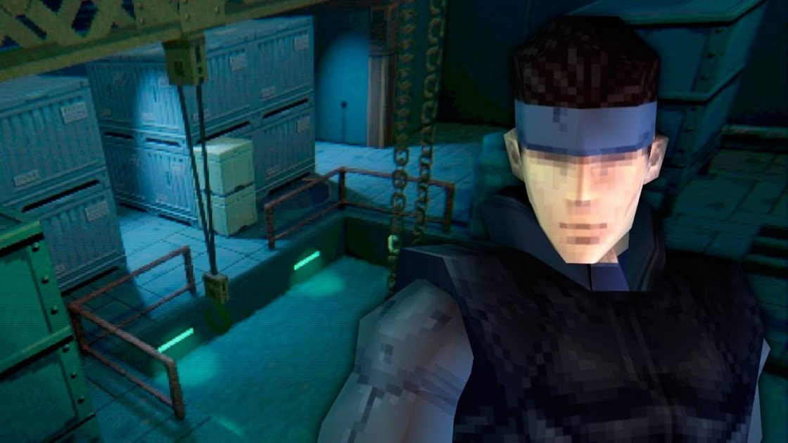 Recreación de Metal Gear Solid en Dreams