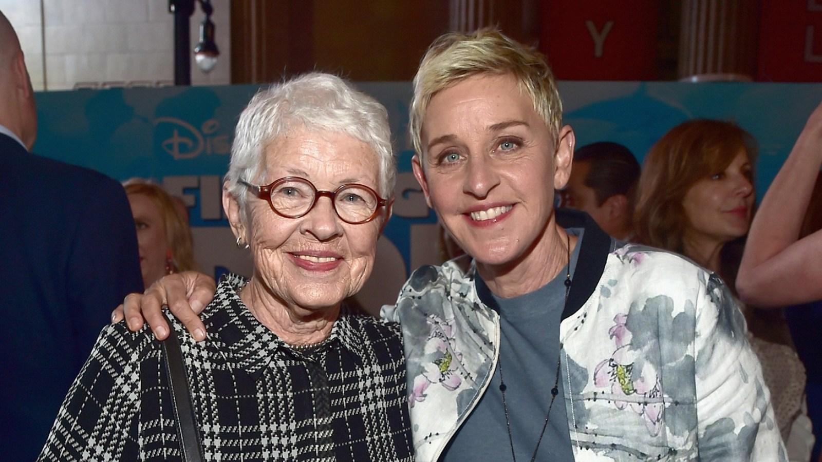 Ellen DeGeneres revela del abuso sexual de su padrastro