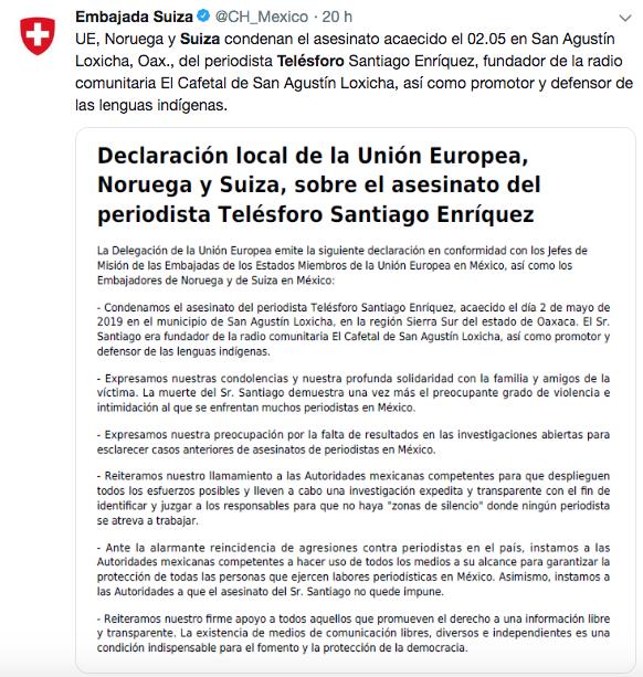 embajada-suiza-asesinato-mexico-union-europea