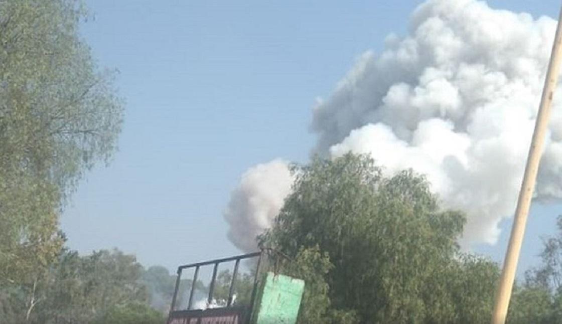 Explosión de polvorín en Tultepec