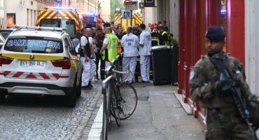 La explosión de un paquete bomba en Lyon, Francia, deja un saldo de 8 heridos