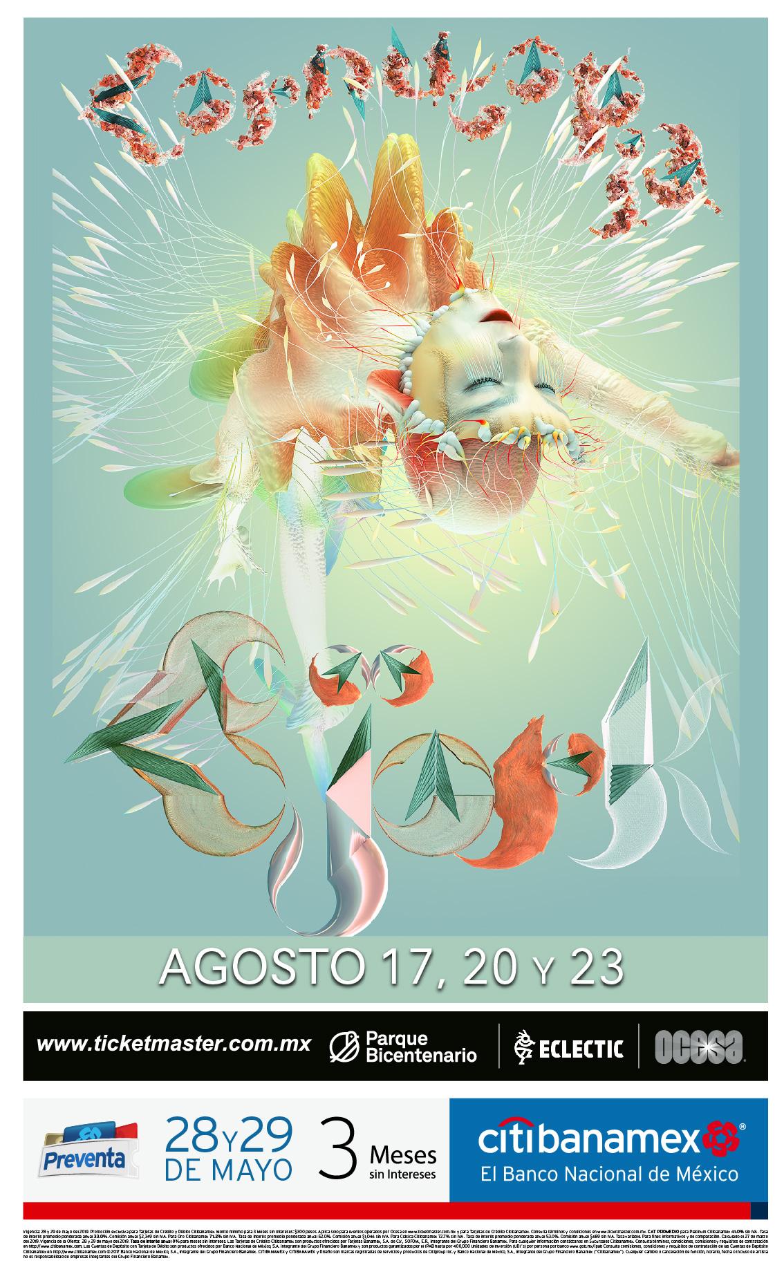 ¡Björk regresará a México para promocionar 'Cornucopia' con 3 conciertos!