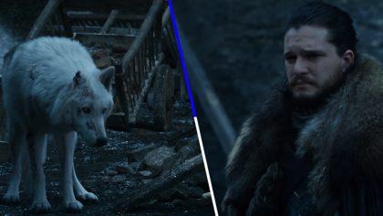 La absurda razón por la que Jon Snow no se despidió de Ghost en 'Game of Thrones'