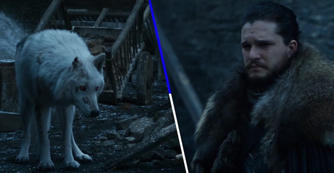 La absurda razón por la que Jon Snow no se despidió de Ghost en 'Game of Thrones'
