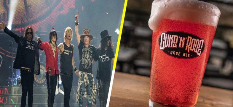 'Guns 'N' Rosé' no es la cerveza de Guns N' Roses, ya hay demanda