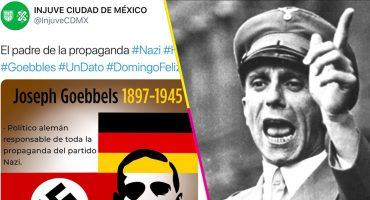 ¿Pooooor? Injuve recuerda a Goebbels en Twitter, responsable de la propaganda nazi