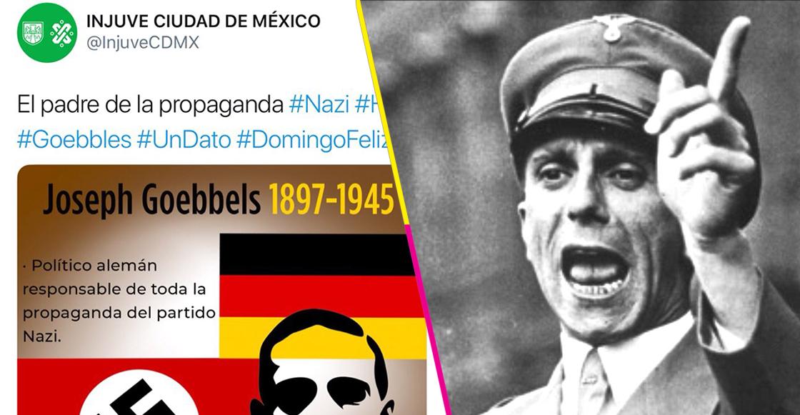Goebbels recordado por injuve