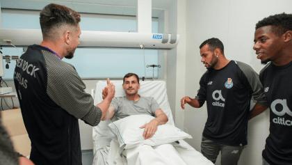 El testimonio de Héctor Herrera después de visitar a Iker Casillas en el hospital