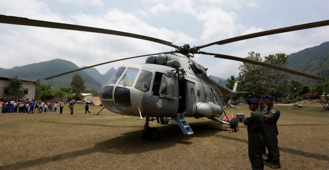 Semar afirma que el helicóptero desplomado en Querétaro estaba en
