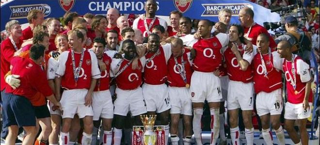 Recordemos al invencible Arsenal: único campeón invicto de la Premier League