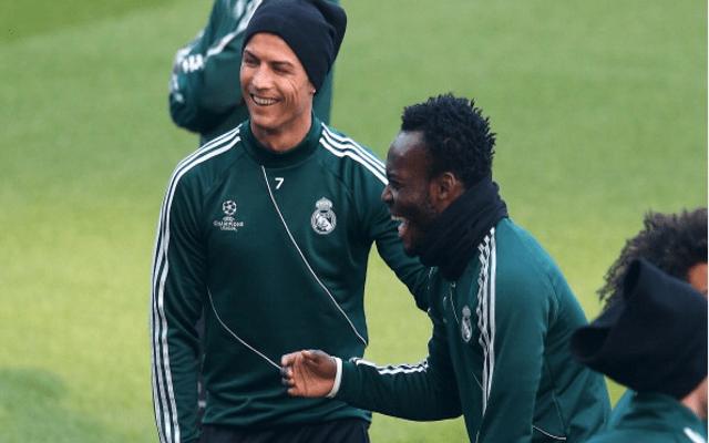 El día que Essien invitó a todo el Real Madrid a su cumpleaños y sólo fueron dos