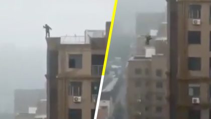 Pero no entienden: Cae de un edificio por querer tomarse una selfie