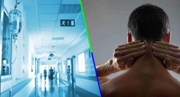 ¿Qué tanto es tantito? Un hombre estira el cuello y termina con derrame cerebral
