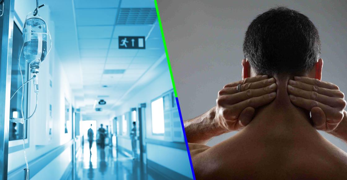 ¿Qué tanto es tantito?: Un hombre estira el cuello y termina con derrame cerebral