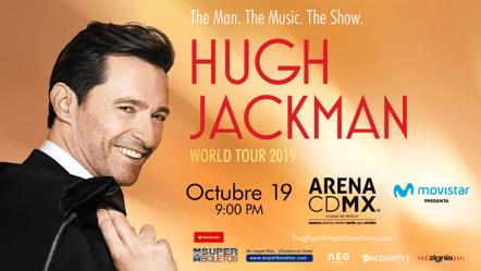 Hugh Jackman presentará en México su show musical
