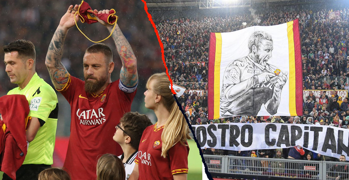 En imágenes: Así fue la emotiva despedida de Daniele De Rossi en Roma