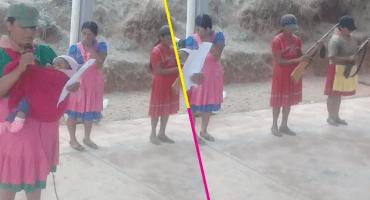 Mujeres indígenas se unen a la policía comunitaria para combatir al crimen organizado en Guerrero